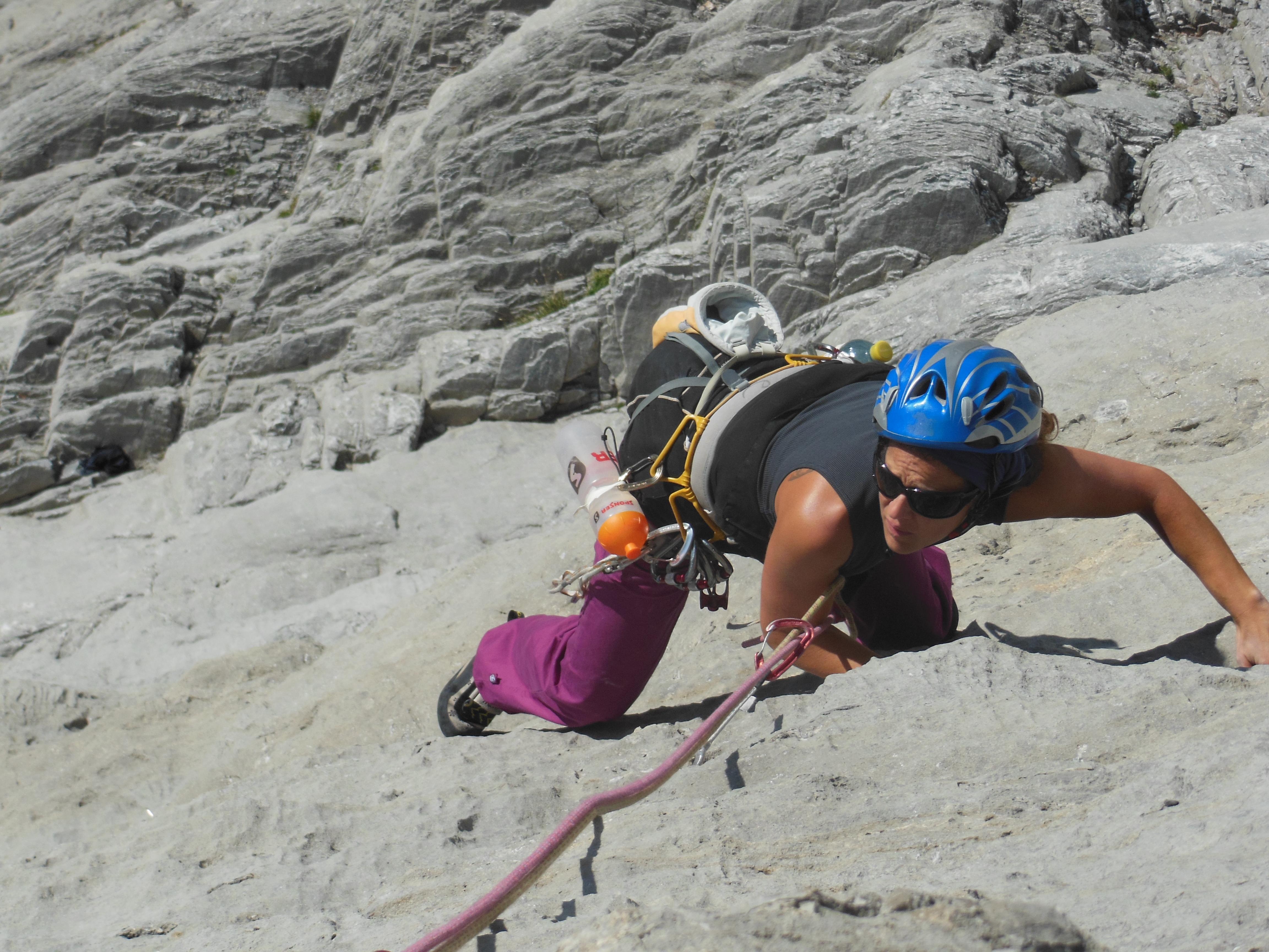bergsteigen lernen kurs
