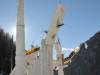 Mit Bergführer von ProAlpina aus Südtirol beim Eiskletterkurs im Passeiertal