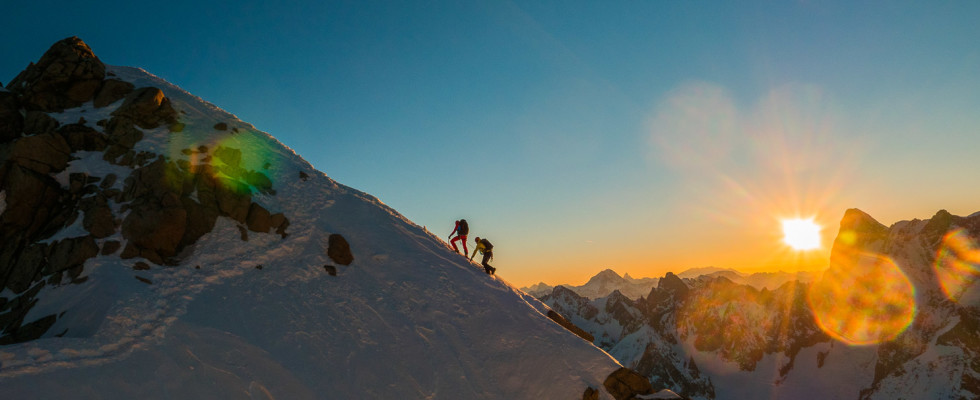 Mit Bergführer von ProAlpina aus Südtirol - Dolomiten auf Hochtouren