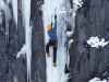 Mit Bergführer von ProAlpina aus Südtirol - Dolomiten beim Eisklettern
