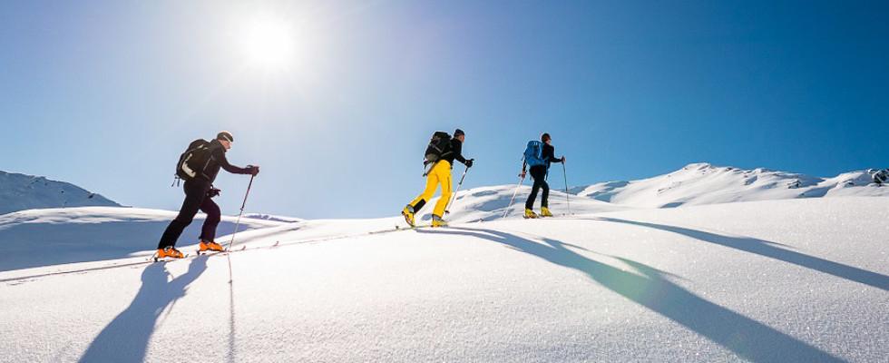 Mit Bergführer von ProAlpina aus Südtirol auf Skitour - Dolomiten