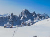 Mit Bergführer von ProAlpina aus Südtirol - Dolomiten auf Skitour in den Sextner Dolomiten (Drei Zinnen)