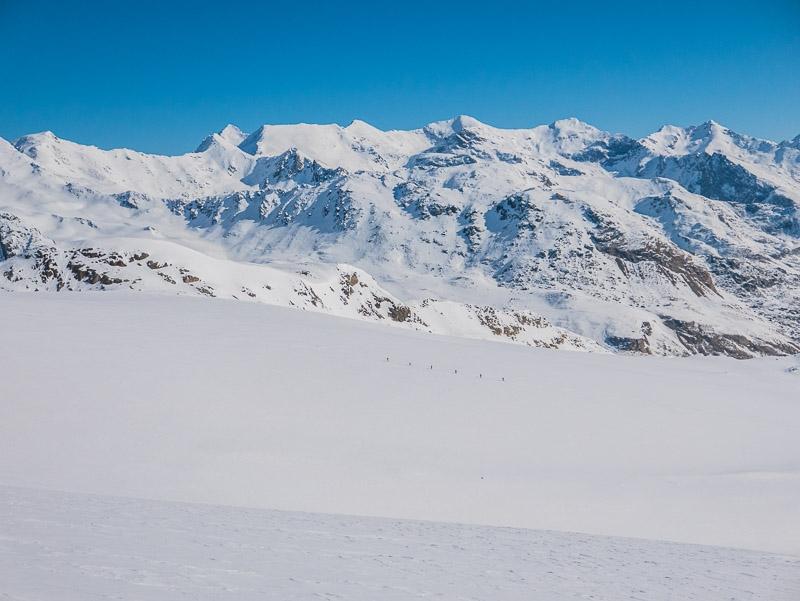 Skitouren Martell – Ortler-Gruppe mit Bergführer