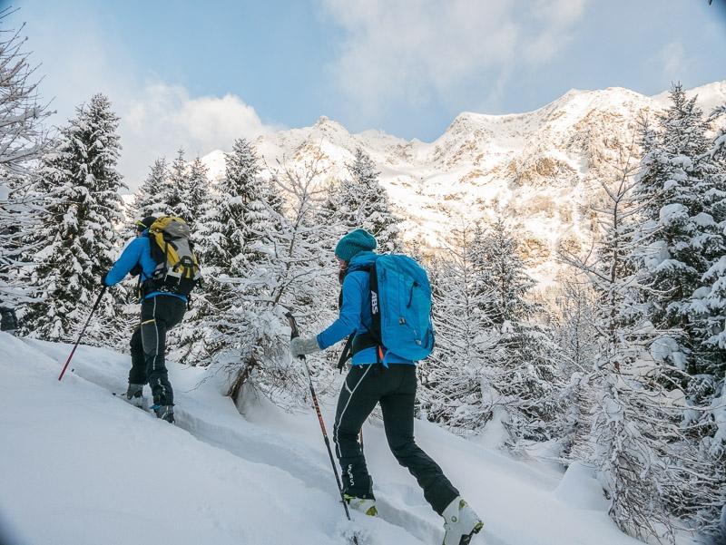 Skitouren Ultental mit Bergführer