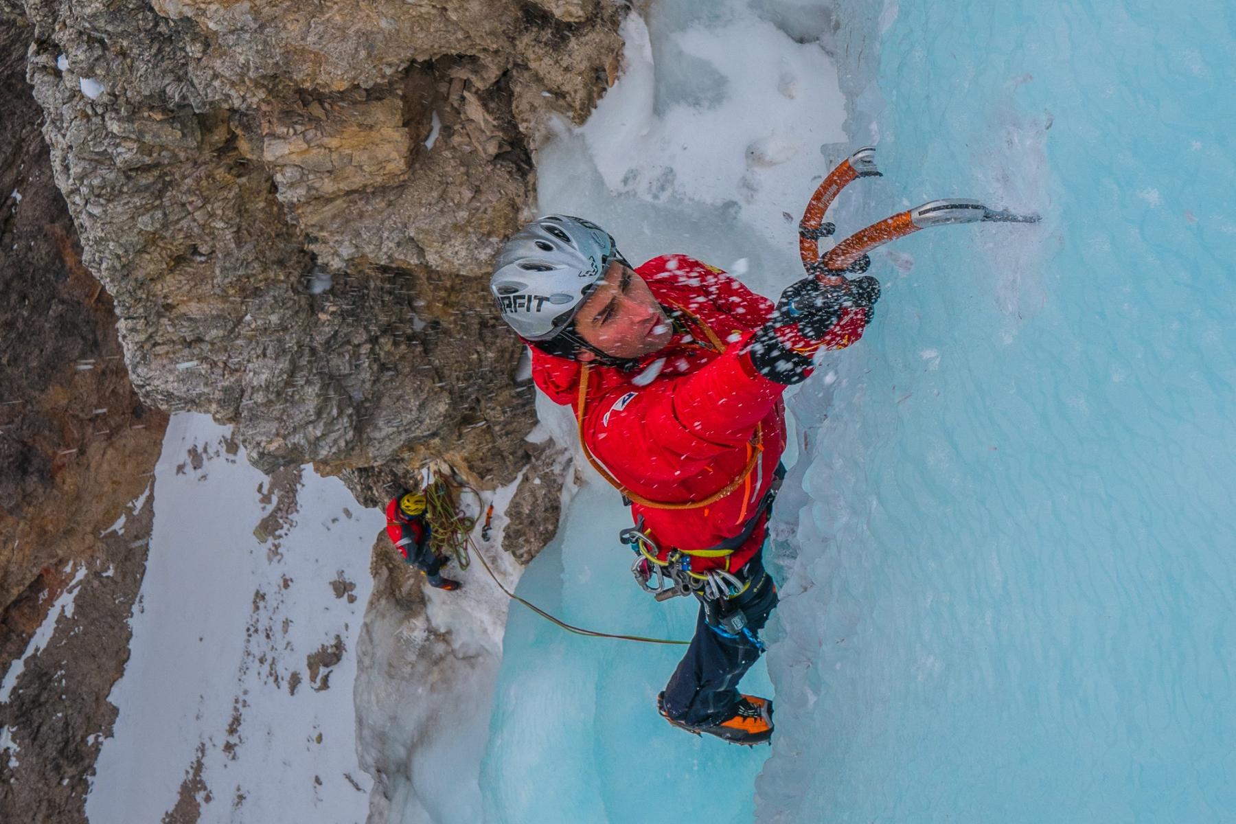 Eisklettern Dolomiten und Val Travenanzes mit Bergführer