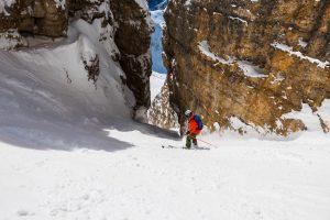 Freeride Mittagstal – Val Mezdi mit Bergführer