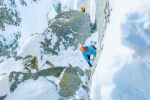 Eis-Couloirs und Nordwände Chamonix mit Bergführer