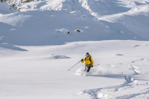 Freeride Dolomiten mit Bergführer