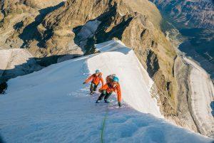 Biancograt & Piz Palü mit Bergführer
