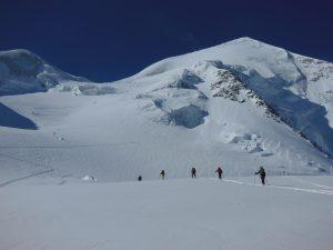 Skitourendurchquerung Bernina-Gruppe mit Bergführer